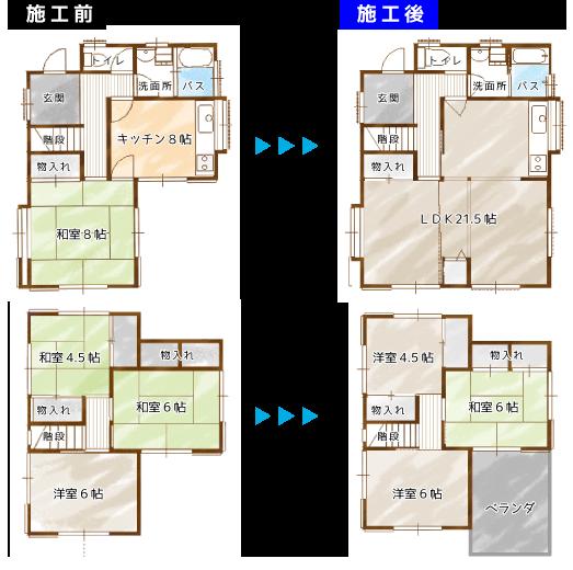 岩建ホームテックの増改築